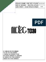 Ricambi Tecno2c5 - 0009 - 06 - 2000