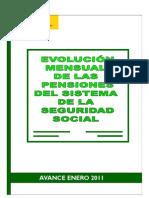 Datos de pensiones en España (23ENE011)