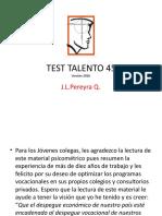 1 PPT TEST TALENTO 45_2016