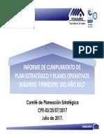 INFORME_CUMPLIMIENTO_PLAN_ESTRATEGICO_Y_OPERATIVO__II_TRIMESTRE_2017