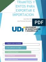 TRAMITES Y DOCUENTOS PARA EXPORTAR