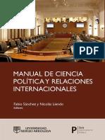 Manual de ciencias políticas y relaciones internacionales
