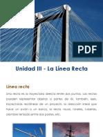 Unidad III - La Línea Recta - p1 c