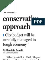 Aledo city budget