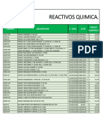 Reactivos Quimica - IDG al 01-09-2020