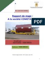 rapport de stage construction mettalique