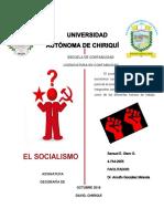 GEOGRAFIA SOCIALISMO FINAL