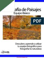 Fotografía De Paisajes Equipo Básico - diosestinta.blogspot.com