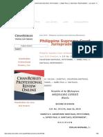 G.R No. 241144 - JUANITA E. CAHAPISAN-SANTIAGO, PETITIONER, v. JAMES PAUL A. SANTIAGO, RESPONDENT. _ June 2019 - Philipppine Supreme Court Decisions