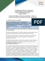 Guia de actividades y Rúbrica de evaluación - Tarea 2 - Solución de modelos de programación lineal de decisión.pdf