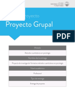Proyecto de investigación formativa métodos cuantitativos en psicología.
