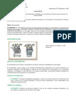 LESSON N° 09 - RECUROS RENOVABLES Y NO RENOVABLES Y LOS PATRONES DE CONSUMO