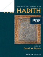 (The Wiley Blackwell Companions to Religion) Daniel W. Brown - The Wiley Blackwell Concise Companion to the Hadith-Wiley-Blackwell (2020).pdf