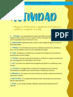 Busque en El Diccionario El Significado de Las Siguientes Palabras y Consígnelo en Su Blog