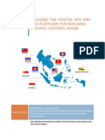 Utilizing The Digital 4th Way As A Platform For Building A People Centred ASEAN