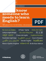 ESOL Frequently Asked Questions