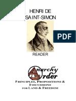 Saint-Simon, Henri de - Reader
