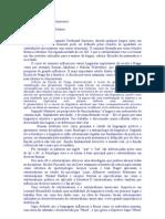 O estrutualismo segundo Ferdinand Saussure