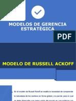 2. Modelos de fases de la Gerencia Estratégica
