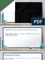 TIPICIDAD SUBJETICA Y ANTIJURICIDAD 2 parte