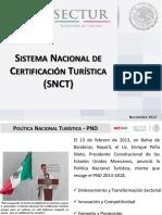 Sistema Nacional de Certificación Turística