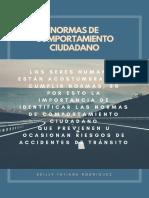 NORMAS DE COMPORTAMIENTO CIUDADANO KEILLY TATIANA RODRIGUEZ