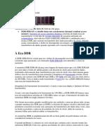 MEMÓRIAS DDR SDRAM