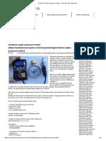 Vinduino water pressure meter - Van der Lee Vineyard