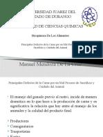 Principales Defectos de la Carne por un Mal Proceso de Sacrificio y Cuidado del Animal(5A2014).pptx
