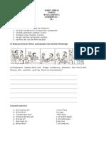 CBSE Class 7 German Worksheet (1)