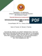 SIM-SDL-CAFAE-AR 114-Theory of Architecture 1-Parenas Renato Week 1-3