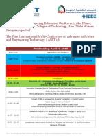 4 April 2018 Conference PD