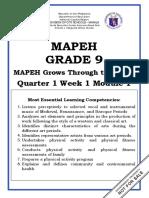 MAPEH 9_Q1_W1_Mod1