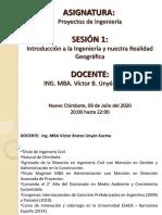 SESIÓN 1 (PROYECTOS DE INGENIERIA) 09.07.2020