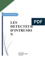 detecteur d'intrusion