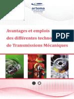 Avantages et emplois des différentes technologies de Transmissions Mécaniques
