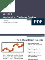 Chapter 1 - 6 Step Design Process