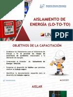 Aislamiento de Energia (LOTO)