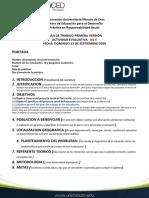 PLAN DE TRABAJO ACTIVIDAD No  6