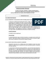 ESPECIFICACIONES TECNICAS CARRETERA