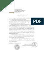 Carta de Dom Mário Antonio da Silva pela Canonização do Bem-aventurado José Allamano