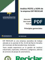 PRINCIPIOS GERENCIALES DOFA Y PESTEL