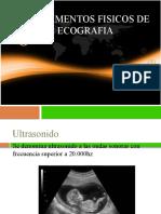 Fundamentos Físicos de La Ecografia
