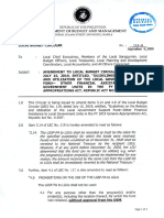 LOCAL BUDGET CIRCULAR NO. 119-B Ammendment to LBC 119 - Guidelines on the Release of LGSF