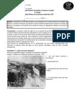 Material impreso Historia II°medio