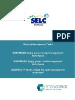 BSBPMG409-412-417 Assessment task 1