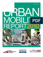 2010 Urban Mobility Report