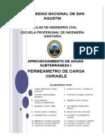 PERM DE CARGA VARIABLE INFORME
