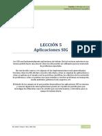 4.Aplicaciones SIG