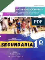 entrenamiento de educacion fisica 1º SECUNDARIA